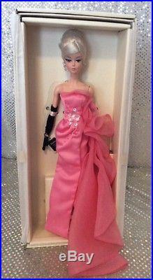 Glam Gown Silkstone Barbie Doll Fashion Model 2016 Gold Label Dgw58 Mint Nrfb