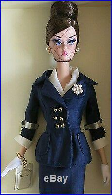 Gold Label BFMC Exclusive Boater Ensemble Silkstone Barbie Doll & Boater Hat