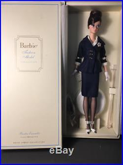 Gold Label Barbie Fashion Model Silkstone Boater Ensemble Doll Nrfb