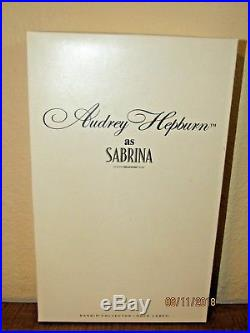Gold Label First Ever Silkstone Audrey Hepburn As Sabrina Barbie Doll