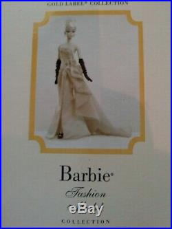 Gold Label Glam Gown Silkstone Barbie NRFB Fashion Model Collection