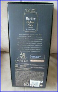 Golden Gala Convention Barbie 2009 NRFB 50th Anniversary LE 1200 WithW