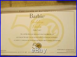 Golden Gala Silkstone Barbie African American- 2009 Convention NRFB LE600