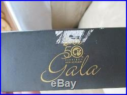 Golden Gala Silkstone -Barbie NRFB Gold Label -2009 Convention 50th Anniv