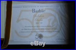 Golden Gala Silkstone Barbie2009 ConventionGold LabelLE 1200NIBNRFBRare