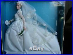 Grace Kelly The Bride Barbie Doll Genuine Silkstone Body 2011 NRFB