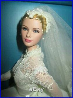 Grace Kelly The Bride Silkstone Barbie NRFB Mint 2011 Gold Label #T7942