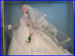 Grace Kelly The Bride Silkstone Barbie -nrfb -2011 Gold Label T7942