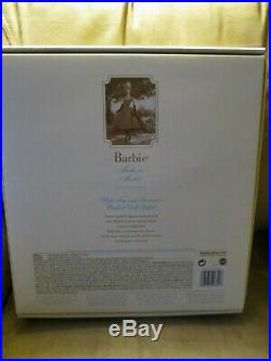HIGH TEA and SAVORIES SILKSTONE BARBIE GIFTSET -NRFB GOLD LABEL -2006 #J0957