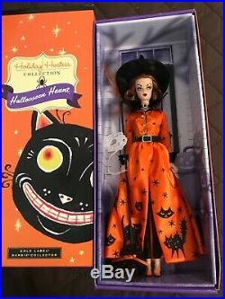 Halloween Haunt Barbie 2011 Holiday Hostess NRFB Gold Label HTF