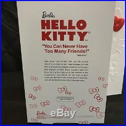Hello Kitty Gold Label Barbie Doll With limited Edition BFC Sketch New NRFB