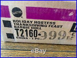 Holiday Hostess Thanksgiving Feast Silkstone Barbie with Shipper NRFB