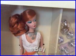 Hollywood Hostess Silkstone Barbie Doll Fashion Model 2007 Gold Label K7900 Nrfb
