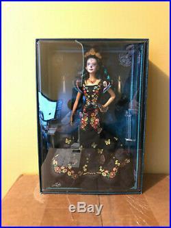 IN HAND Barbie Day of The Dead Dia De Los Muertos Doll Mexico Holiday Skull