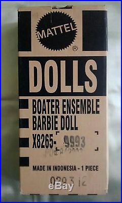 Italian Doll Convention Boater Ensemble BFMC Barbie Silkstone IDC blond excl