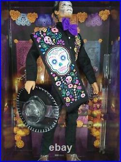 Ken Dia De Los Muertos(Day of The Dead) Doll Mattel 2021 Collectible #GXL26