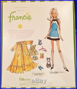 Kitty Corner Francie Gold label Silkstone BARBIE doll Gift Set W3469 NRFB LimEd