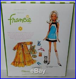 Kitty Corner Francie Silkstone Barbie Doll Gift SetGold LabelNIBNRFBSold Out
