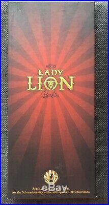 Lady Lion Barbie NRFB LE 100 2018 Portuguese convention Portugal Lisbon