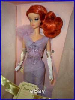 Lavender Luxe Barbie Doll Silkstone NRFB Mattel Redhead BFMC Gold Label
