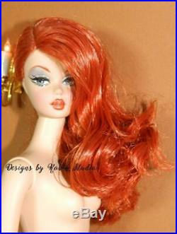 Lavender Luxe Silkstone Barbie DollNUDE2015Gold LabelEnhanced