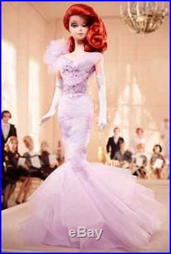 Lavender Luxe Silkstone Barbie MINT- NRFB & Tissued Fashion Model