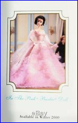 Limited Edition (2000) Silkstone Barbie In the Pink Fashion Model Collection