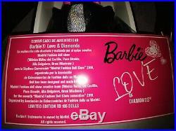 Love and Diamonds Barbie Silkstone 2019 MFDC Madrid convention LE 105