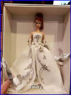 MIB Joyeux Barbie Silkstone Red Hair Limited Ed FAO Schwarz 2003 Mattel Doll