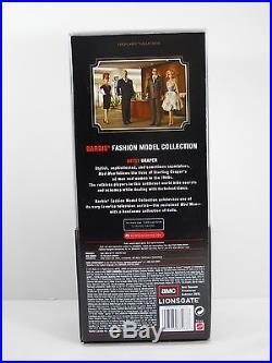 Mad Men BETTY DRAPER SILKSTONE FASHION MODEL Barbie Doll NRFB FREE SHIPPING USA