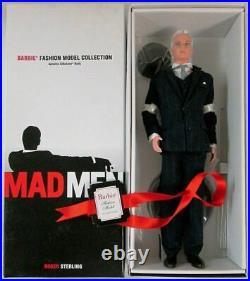 Mad Men Roger Sterling Barbie Doll Silkstone Gold Label