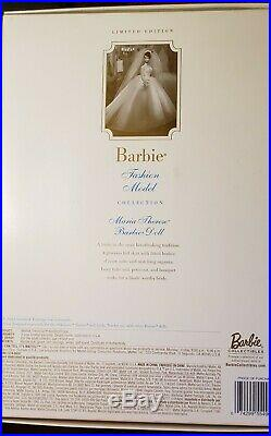 Maria Therese Silkstone Fashion Model Barbie Bride 2001 Limited Edition NRFB