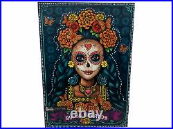 Mattel Barbie 2019 Dia De Los Muertos Day of The Dead Doll In Hand Brand New