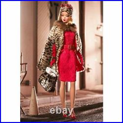 Mattel Barbie Fashion Model Collection Red Hot Reviews Gold Label Silkstone 2007