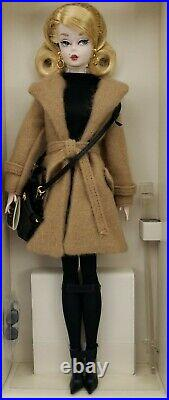 Mattel Classic Camel Coat Silkstone Fashion Model Barbie Doll #DGW54 NRFB