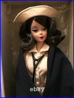 Mattel SILKSTONE Barbie Fashion Model Collection 2005 THE NURSE GOLD LABEL