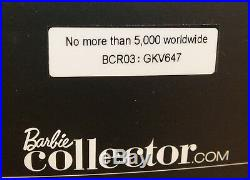 Mattel Venetian Muse Global Glamour Collection Gold Label Collectible Barbie