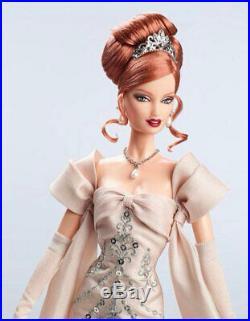 Midnight Celebration Barbie Doll redhead BDH43, 2014 National Barbie Conv. NRFB