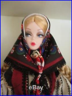 Mila Russian Silkstone Barbie 2011 BFMC Gold Label NRFB LE 5800 worldwide