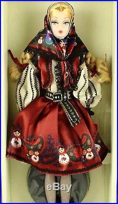 Mila Russian Theme Barbie Doll Silkstone RARE SILKSTONE DOLL OUT OF BOX
