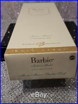 Movie Mixer Silkstone Barbie Doll 2007 Gold Label Mattel K7963 Mint Nrfb