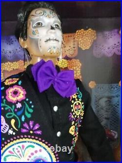 NEW 2021 Ken Dia De Los Muertos(Day of The Dead) Mattel Collectible #GXL26