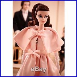 NEW BARBIE BLUSH BEAUTY Silkstone DOLL GOLD LABEL Fashion Model NRF SHIPPER BOX