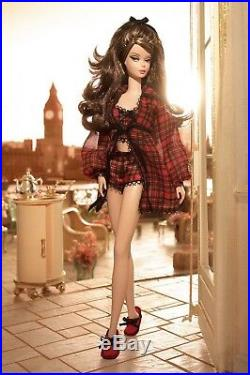 NEW Highland Fling Barbie Silkstone Pajama Vintage Fashion Model Gold Label NRFB