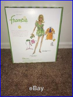 NIGHTY BRIGHTS Bright FRANCIE barbie SILKSTONE GIFTSET BFC EXCLUSIVE NRFB Gold