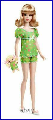 NIGHTY BRIGHTS SILKSTONE FRANCIE GIFTSET SHIPPER Gold Label Barbie V0457 NRFB