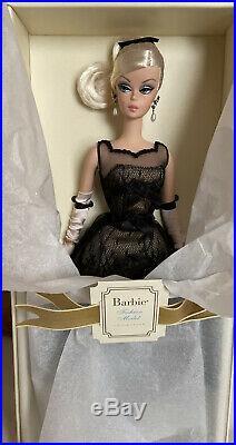 NRFB Barbie Cocktail Dress Silk stone Doll Gold Label 2013
