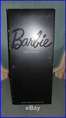 NRFB Barbie Italian Convention Hope Diamond Platinum Hair Doll VHTF only 180