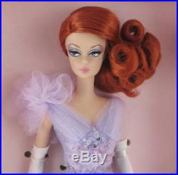 NRFB Barbie Silkstone Fashion Model Collection Lavender Luxe Gold Label Redhead