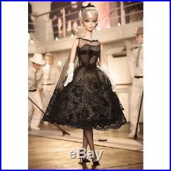 NRFB Fashion Mod Cocktail Black Dress Barbie Gold Label Silkstone Doll Robert B